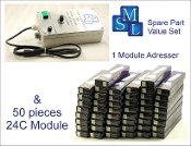 Addresser + Module Set 3 (24C), 1 adresser and 50 modules