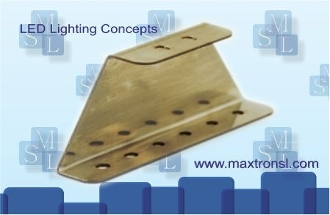 MSL Rim Light Fixture Mounting Bracket B